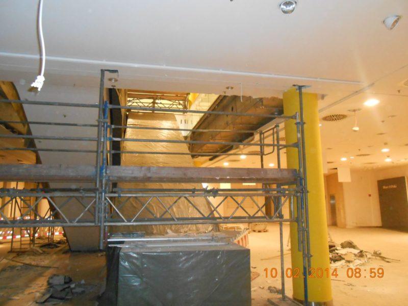 – z.B. für Deckenbearbeitungen in Kirchen und Werkshallen